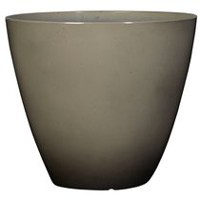 "hometrends Decorative 12"" Plastic Planter Grey"
