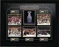 Frameworth Sports Stanley Cup Collection Game Used Net Deluxe Collection 2008 to 2012 White Team Photo Frame