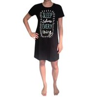 George Plus Ladies' Nightshirt Black
