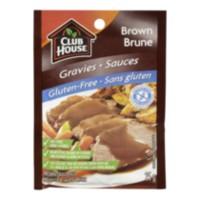 Sauce brune sans gluten de Club House