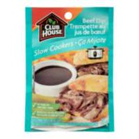 Club House Slow Cooker Beef Dip