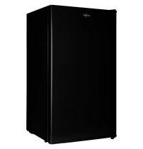 Compact Fridge with Freezer, 3.2 Cubic Feet, black