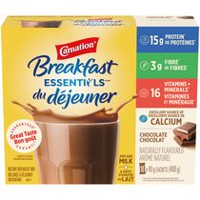 Carnation Breakfast Essentials Chocolate Breakfast Powder Drink Mix