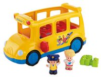 Fisher-Price Little People – Autobus scolaire Lil' Movers – Édition française