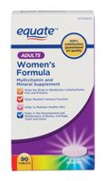 Equate Women's Formula Multivitamin and Mineral Supplement