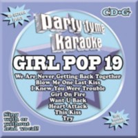 Karaoke - Party Tyme Karaoke: Girl Pop 19 (CD+G)