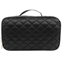Still Spa Quilted Large Double Zip Cosmetic Case
