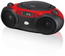 GPX CD Boombox - Red