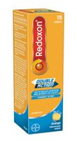Redoxon® Double Action Vitamin C and Zinc Orange Effervescent Tablets