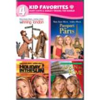 4 Kid Favorites: Mary-Kate & Ashley Travel The World - Winning London / Passport To Paris / Holiday In The Sun / When In Rome