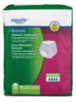 Equate Maximum Absorbency Women's Underwear