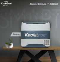 Koolatron® SmartKool™ SK50 Portable Cooler Freezer 54 Quart / 50L Bluetooth® Enabled 12V DC/110V AC Refrigerator for Travel, Camping, Car, Truck, Boat, RV, Tailgate, BBQ, Hotel