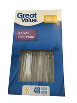 Couteaux en plastique de Great Value
