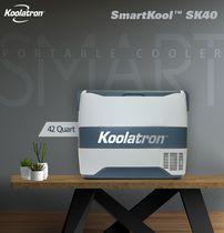 Koolatron® SmartKool™ SK40 Portable Cooler Freezer 42 Quart / 40L Bluetooth® Enabled 12V DC/110V AC Refrigerator for Travel, Camping, Car, Truck, Boat, RV, Tailgate, BBQ, Hotel