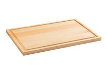 """Maple Wood Cutting Board 17""""x11.5""""x0.75"""" with Juice Groove CHOP CHOP"""