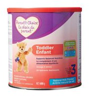 Parent's Choice Toddler Milk-Based Nutritional Supplement