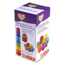 Parent's Choice Rainbow Stacking Tower