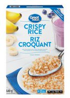 Riz croquant Great Value format familial