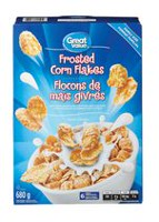 Great Value Family Size Frosted Corn Flakes