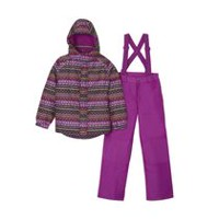 George Girls' Hooded Snow Suit M