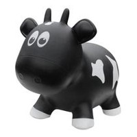 Farm Hoppers Animal Bouncers Cow, Black