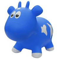 Farm Hoppers Animal Bouncers Cow, Blue