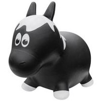 Farm Hoppers Animal Bouncers Horse, Black