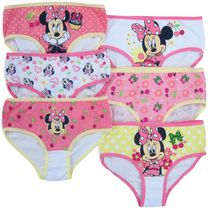 Disney Girls Minnie 6 Pack Briefs 8