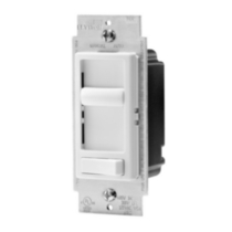 LED/CFL Sureslide Universal Dimmer for Dimmable LED, CFL and Incandescent, in white