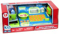 kid connection Green Deluxe Cash Register Playset