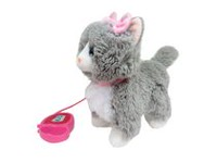kid connection My Walking Pet Grey Cat Animated Toy