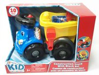 kid connection Construction Truck with Block Set