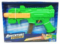 "Adventure Force 11"" Nighthawk Mini Machine Gun With Moving Bullets"