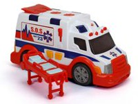 Adventure Force Large Action Series Light & Sound Ambulance
