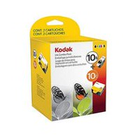 Kodak 10B/10C Black/Colour Ink Cartridges Combo Pack