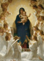 Bouguereau -Virgin with Angels - 6000-7064