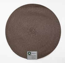 "Home Trends 15"" round woven placemat Brown"