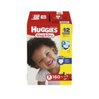 Huggies Snug & Dry Diapers, Economy Pack Size 5