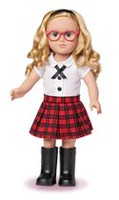 My Life As 18-inch School Girl Doll - Caucasian with Blonde hair