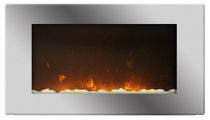 Nihon 2-in-1 Electric Fireplace - EF-WM-1001C