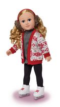 My Life As 18-inch Ice Skater Doll - Caucasian with Blonde hair