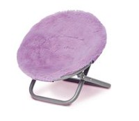 My Life As Purple Saucer Chair