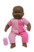 JC Toys Lots to Cuddle Babies African American Soft Body Doll