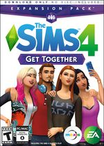 The Sims 4 Get Together Expansion Pack for PC - French