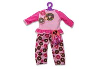 My Life As Doughnut Pajamas Fashion Dress Set