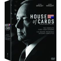 House Of Cards: Seasons 1-4 (Bilingual)