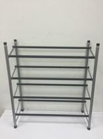 Mainstays 4-Tier Expanding Shoe Rack