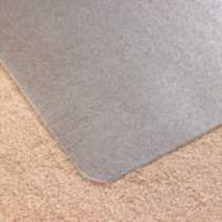 "Cleartex AdvantageMat 46""x60"" rectangle-for low pile carpet"