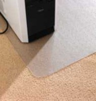 "Computex AdvantageMat 46""x60"" Anti-Static chairmat-for standard pile carpet"