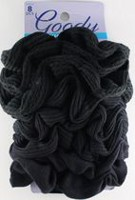 Goody Ouchless Gentle Scrunchies - Black